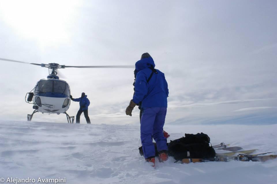 Heliesqui en Bariloche Patagonia Argentina