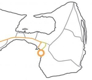 Mapa Playa Pardelas