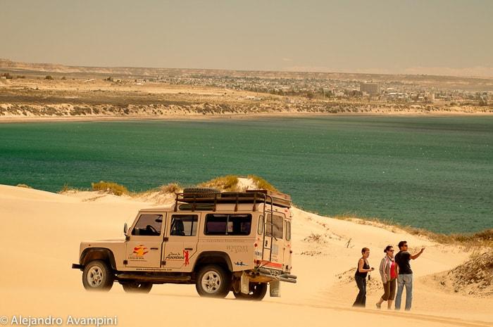 Ausflug durch die Dünen von Puerto Madryn