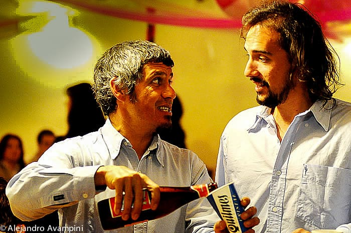 Nature Photographer Luis Petitte in a Party with Roby