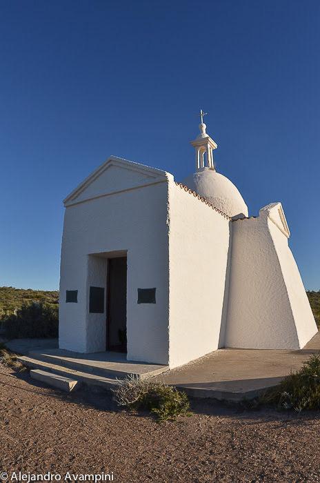 Kapelle auf der Insel der Vögel Halbinsel Valdes