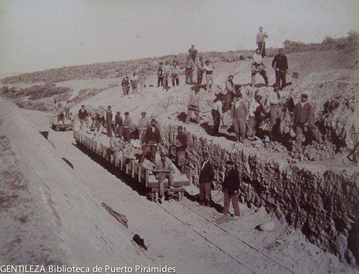 Geschiedenis van Puerto Piramides