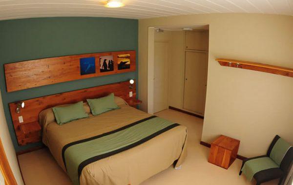 Single – Double  Cuarto de Hotel en Puerto Pirámides – Península Valdés