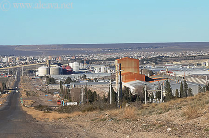 Puerto Madryn industrial area
