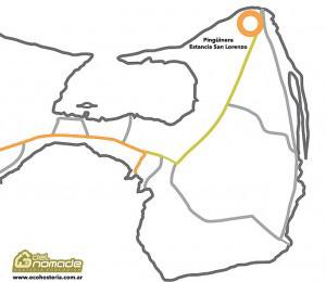 Mapa Estancia San Lorenzo