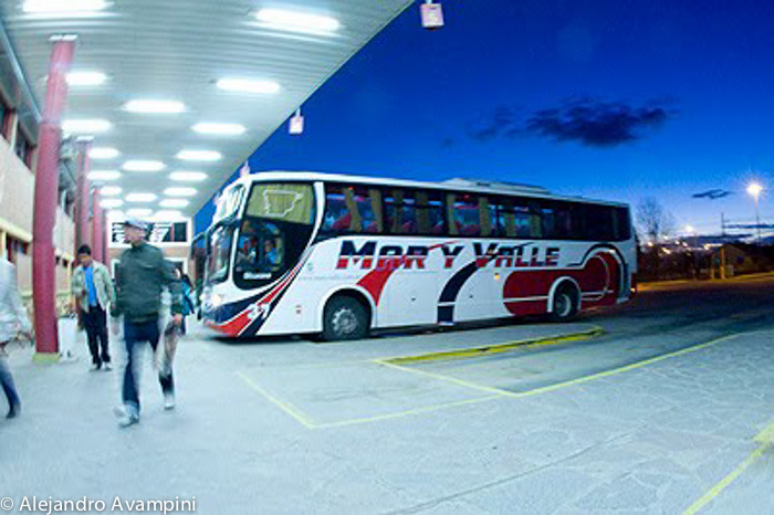 Bus terminal Puerto Madryn - Chubut