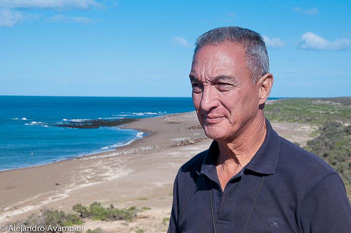 Juan Carlos Lopez in Punta Norte