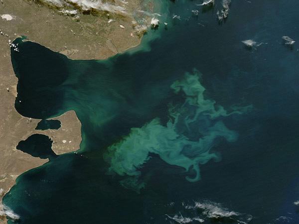 Halbinsel Valdes - Satellitenbildkarte