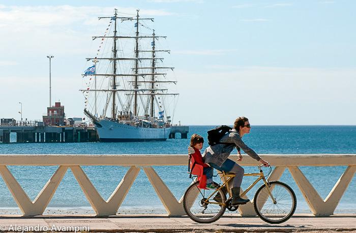 Puerto Madryn en bord de mer