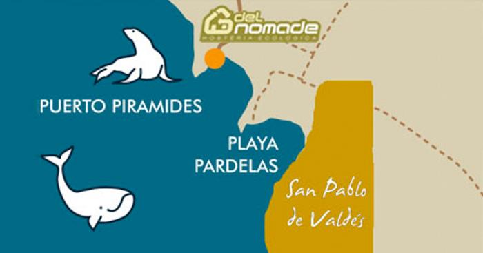 San Pablo Valdes Resrve map