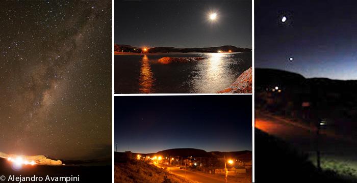 Noites tranquilas em Puerto Piramides