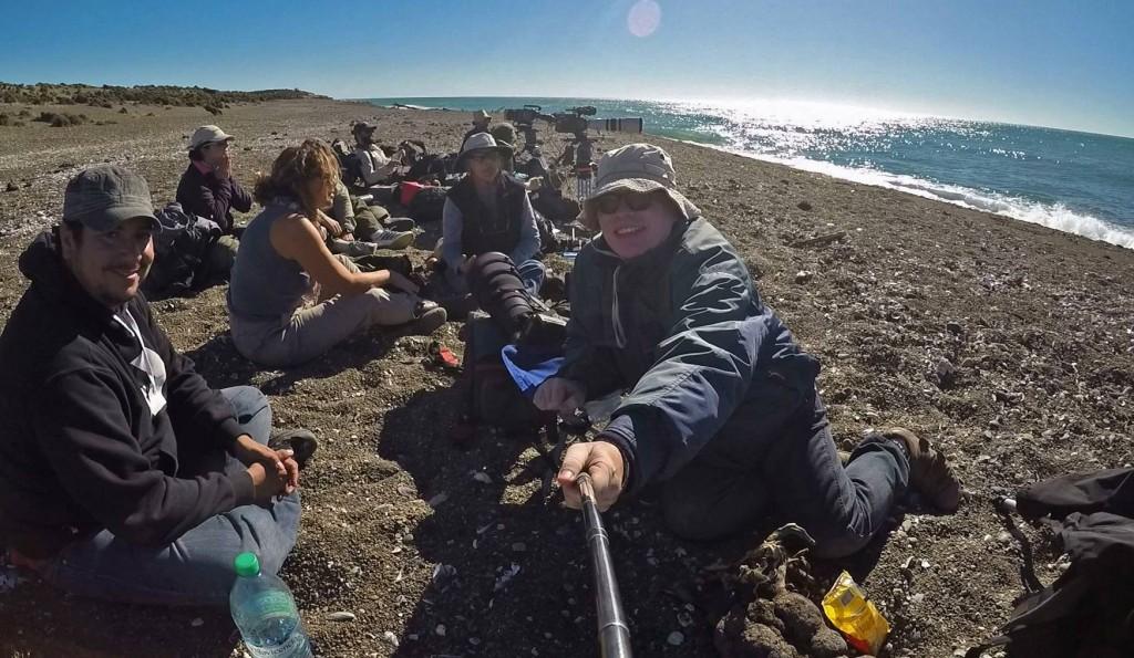 Daniel Feldman fotografo de orcas en Península Valdés