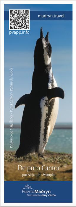 marcador de libros de Puerto Madryn Península Valdes