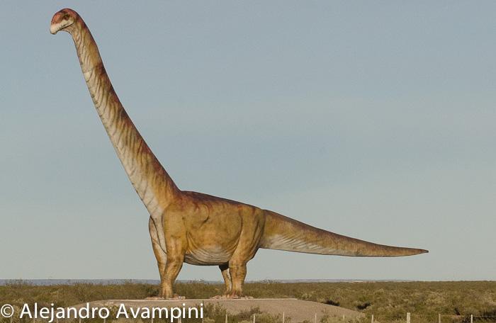 Dinosaurio en Trelew MEF