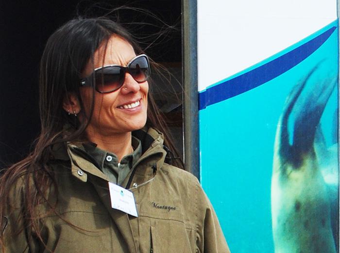 Maria Cabrera - Directora de conservación en el Doradillo
