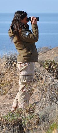 Maria Cabrera - Directora de conservação em praia El Doradillo
