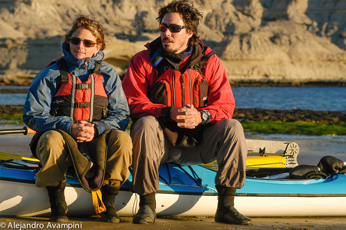 Expeditions Kayaks en Puerto Piramides, Peninsula Valdes - Patagonia Explorers