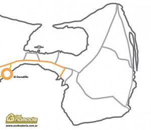 Mapa de El Doradillo - Puerto Madryn