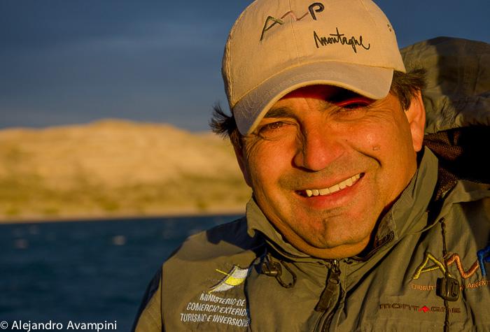 Guardafauna Marcelo Franco en Punta Piramides - Peninsula Valdes