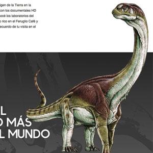 El Esqueleto de dinosaurio mas grande del mundo está en Trelew