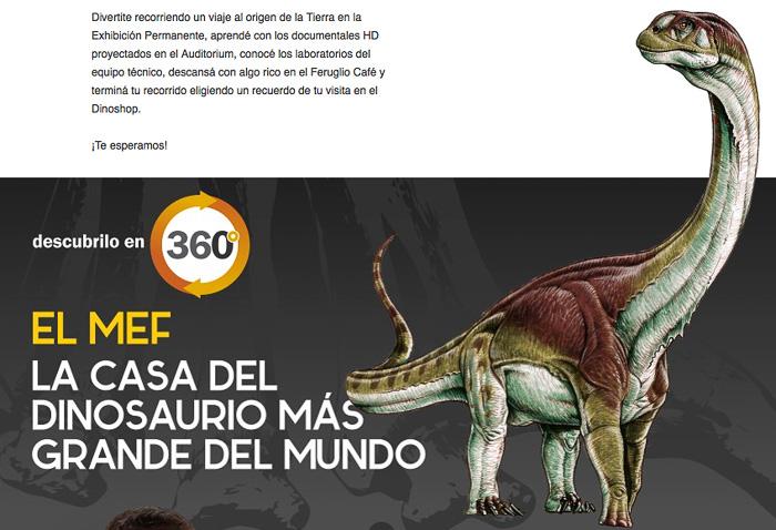 MEF museo paleontologico Trelew Chubut Patagonia Argentina