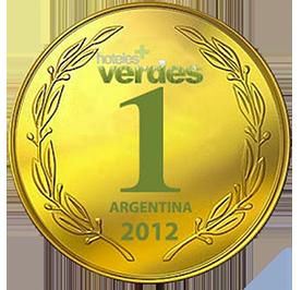1º lugar en Concurso Hoteles mas Verdes de la Argentina