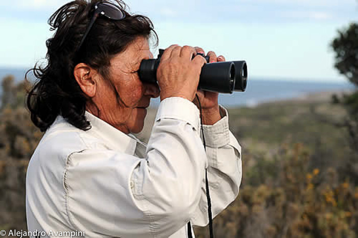 Park Ranger in Punta Norte Orcas - Peninsula Valdes