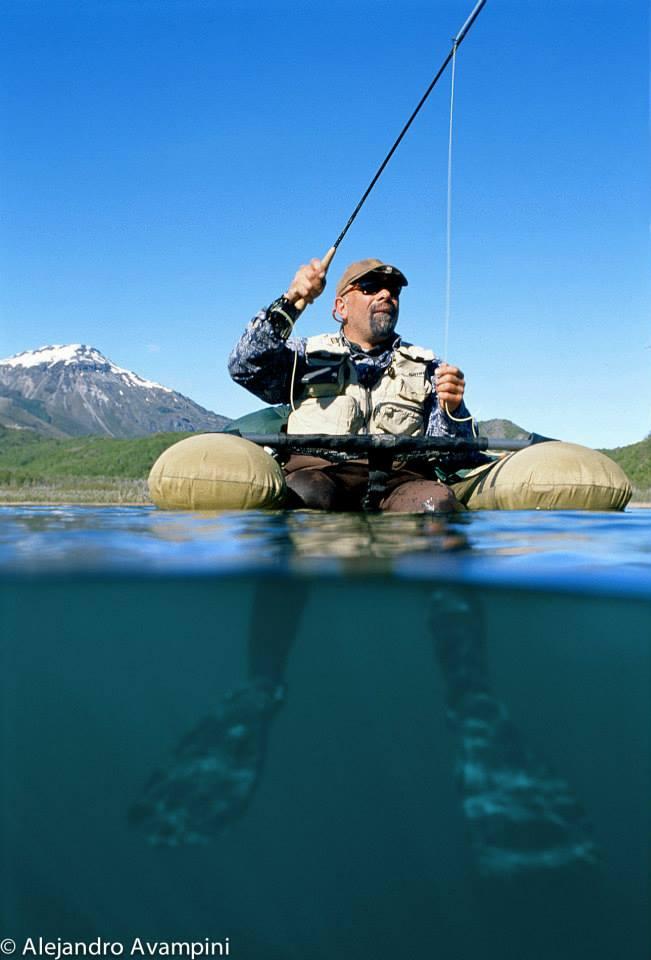 pesaca en los lagos de patagonia argentina