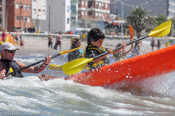 Puerto Madryn School Sea - Kayak for children