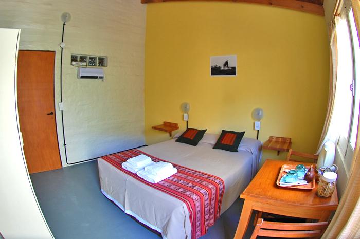 kamer woning in Puerto Piramides het schiereiland Valdes