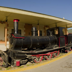 Museo Histórico de Puerto Madryn en la Vieja Estación del Ferrocarril Central del Chubut