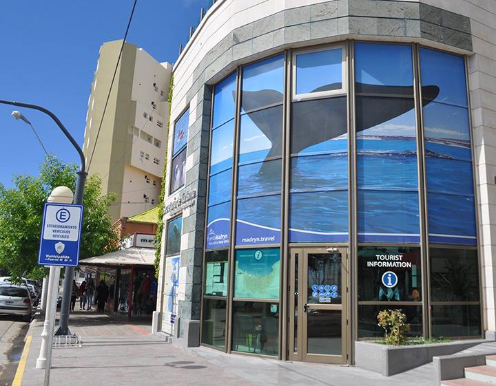 Oficina de Turismo e informes de Puerto Madryn