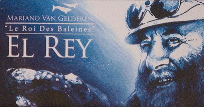 Mariano Van Gelderen King of Whales - Puerto Piramides