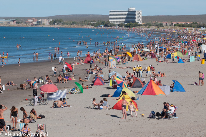 Puerto Madryn Beach Summer Peninsula Valdes