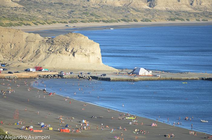 Strand Puerto Piramides Sommer - Halbinsel Valdes