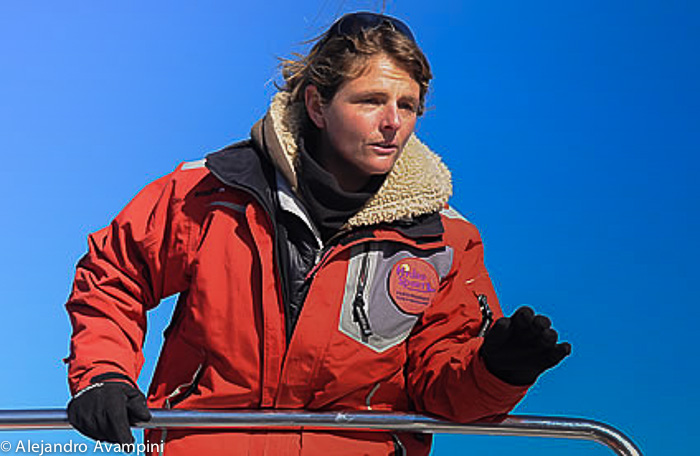 Capitan Sofia Benegas - Avistajes de Ballena